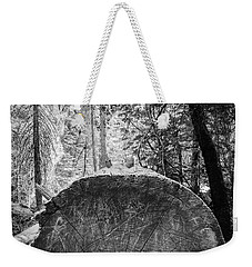 Weekender Tote Bag featuring the photograph Thinking Tree- by JD Mims
