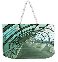 Third Millenium Bridge, Zaragoza, Spain Weekender Tote Bag