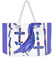 Weekender Tote Bag featuring the photograph This And That by M Diane Bonaparte