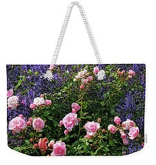 This Beautiful Rose Garden Weekender Tote Bag