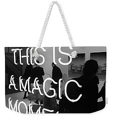 This Is A Magic Moment Weekender Tote Bag by Funkpix Photo Hunter