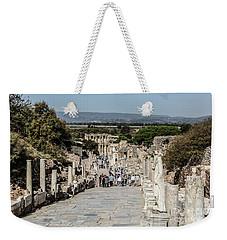 This Is Ephesus Weekender Tote Bag by Kathy McClure