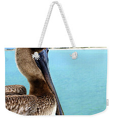 This Is My Town - Pelican At Clearwater Beach Florida  Weekender Tote Bag
