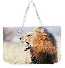 This Is Power Weekender Tote Bag by Happy Home Artistry