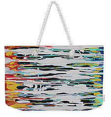 This Is Us Weekender Tote Bag by Cyrionna The Cyerial Artist