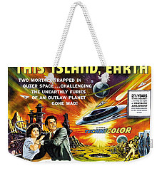 This Island Earth Science Fiction Classic Movie Weekender Tote Bag