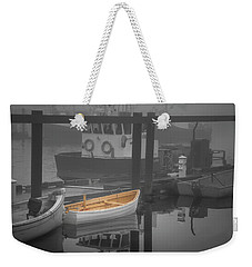 This Little Boat Weekender Tote Bag by Peter Scott