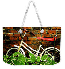 This Old Bicycle Weekender Tote Bag by James C Thomas
