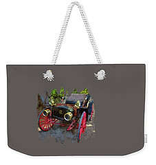 Weekender Tote Bag featuring the photograph This Old Car by Thom Zehrfeld