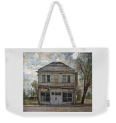 Weekender Tote Bag featuring the photograph This Old Store by Thom Zehrfeld