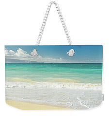 Weekender Tote Bag featuring the photograph This Paradise Life by Sharon Mau