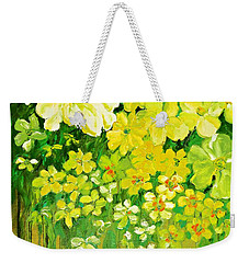 This Summer Fields Of Flowers Weekender Tote Bag