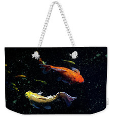 Weekender Tote Bag featuring the photograph This Way by Eric Christopher Jackson