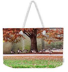 This Way Ladies Weekender Tote Bag