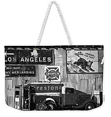 This Way To L.a. Weekender Tote Bag by Marius Sipa