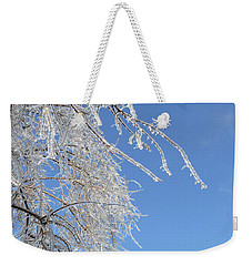 This Willow Don't Bend Weekender Tote Bag by Susan Duda