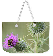 Thistle And Bee 1 Weekender Tote Bag