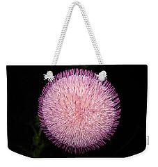 Thistle Bloom At Night Weekender Tote Bag by J R Seymour