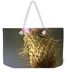 Thistle Weekender Tote Bag by Joseph Skompski