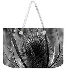 Weekender Tote Bag featuring the photograph Thistle by Keith Elliott