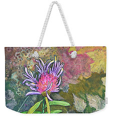 Thistle Weekender Tote Bag by Nancy Jolley
