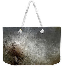 Thistle Seed Weekender Tote Bag by Ludwig Keck
