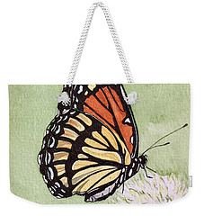Thistle Do Weekender Tote Bag