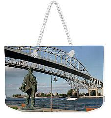 Thomas Edison And Blue Water Bridge 1 Weekender Tote Bag