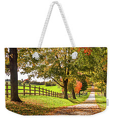 Thomas Farm Lane Weekender Tote Bag