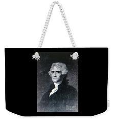 Thomas Jefferson Weekender Tote Bag by Richard W Linford