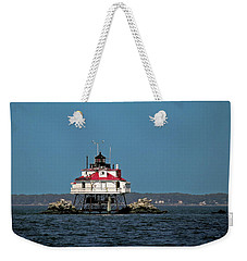Thomas Point Shoal Light Weekender Tote Bag