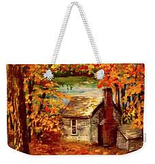 Thoreau's Cove Weekender Tote Bag