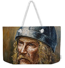 Thorfinn Karlsefni Weekender Tote Bag by Arturas Slapsys