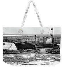 Thornham Harbour, North Norfolk Weekender Tote Bag
