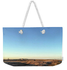 Thornham Marsh Lit By The Setting Sun Weekender Tote Bag