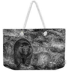 Thornton Creek Black Bear Weekender Tote Bag