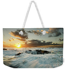Thors Well Cape Perpetua 1 Weekender Tote Bag by Bob Christopher