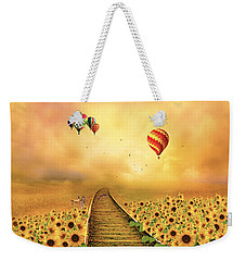 Weekender Tote Bag featuring the photograph Those Infernal Flying Machines by Diane Schuster