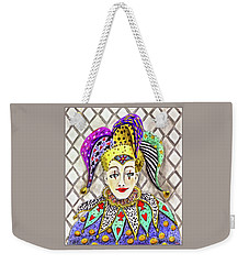 Thoughtful Jester Weekender Tote Bag