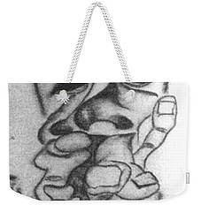 Thoughts And Thinking  Weekender Tote Bag