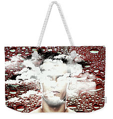 Thoughts Are Like Clouds Passing Through The Sky Weekender Tote Bag