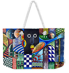 Thoughts In Color Weekender Tote Bag