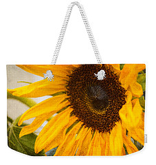 Thoughts Of Autumn Weekender Tote Bag by Arlene Carmel