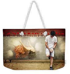 Thoughts Of Love Weekender Tote Bag