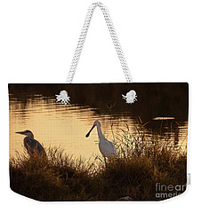 Thoughts On Sunset 02 Weekender Tote Bag by Arik Baltinester