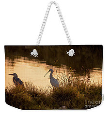 Thoughts On Sunset Weekender Tote Bag by Arik Baltinester