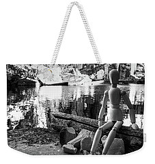 Thoughts Reflected Weekender Tote Bag