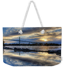 Thousand Islands Bridge Weekender Tote Bag
