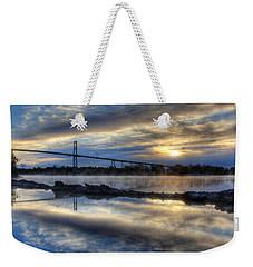 Thousand Islands Bridge Weekender Tote Bag