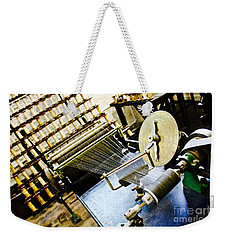 Threaded Weekender Tote Bag